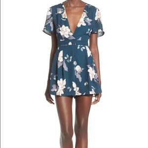 ASTR The Label Floral Romper